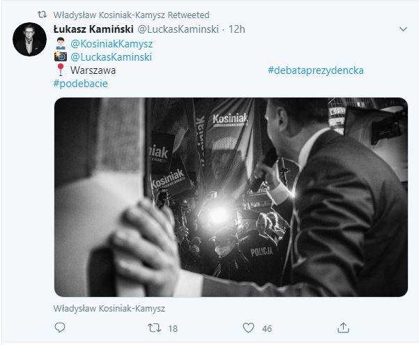 Władysław Kosiniak-Kamysz przemawia na wiecu wyborczym