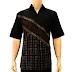 Model Baju Batik Modern Kombinasi Terbaru Trendy 2016