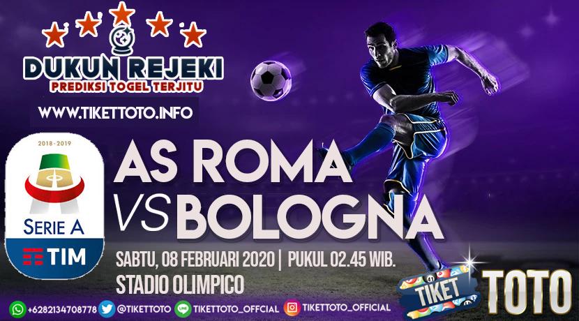 Prediksi Pertandingan AS Roma vs Bologna 08 Februari 2020