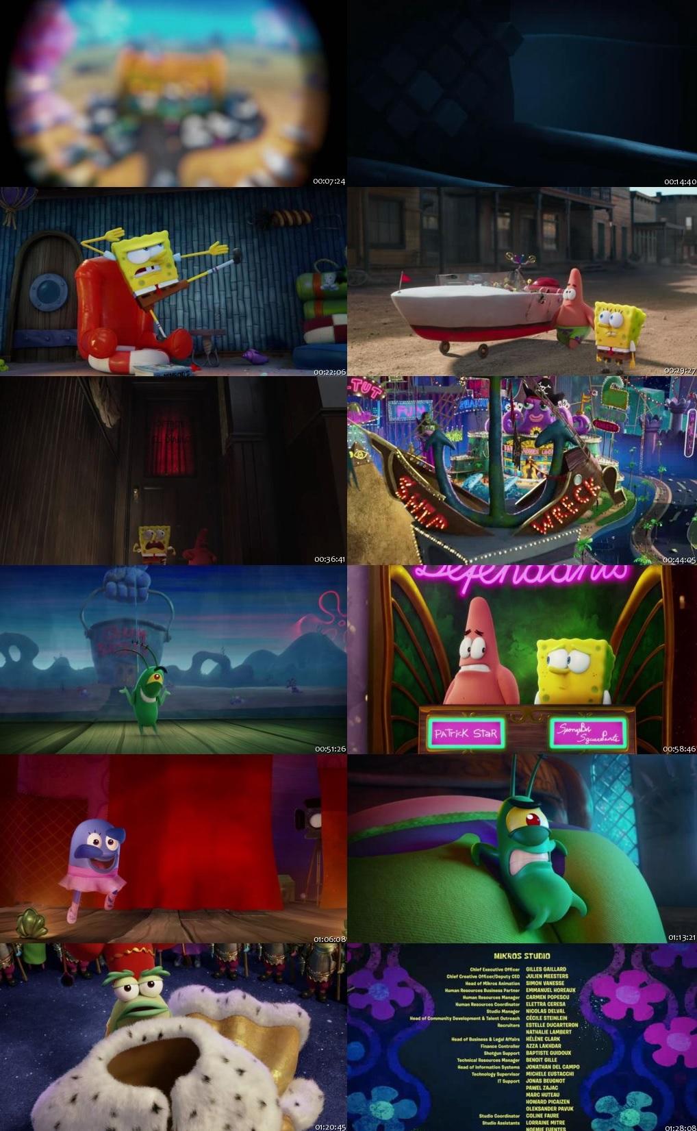 The SpongeBob Movie: Sponge on the Run 2020