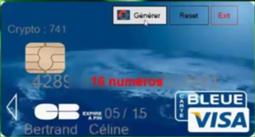 carte bancaire gratuite generateur Hack, Keygen gratuit pour tous!!!: Générateur de Carte Bancaire