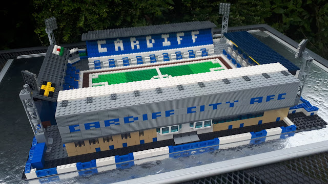 Ninian Park - Cardiff City - In Lego
