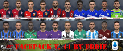 PES 2017 Facepack v44 by Eddie Facemaker