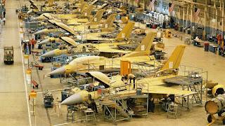 Lini Produksi F-16 Lockheed Martin