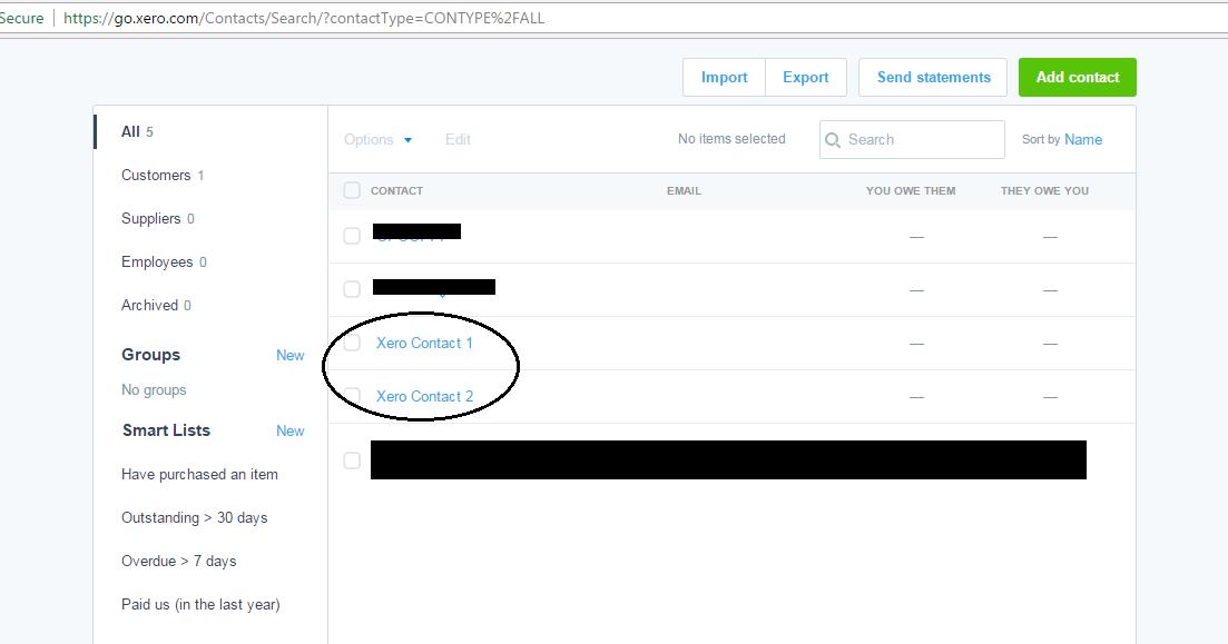 Code Samples: Create Contact in Xero Via API using PHP