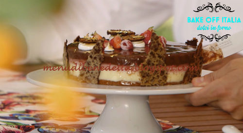 Torta sette peccati ricetta Carrara da Bake Off Italia 5