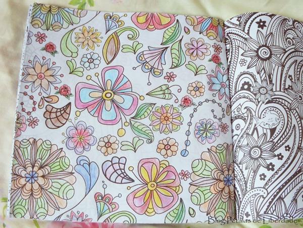 flor, livro-de-colorir
