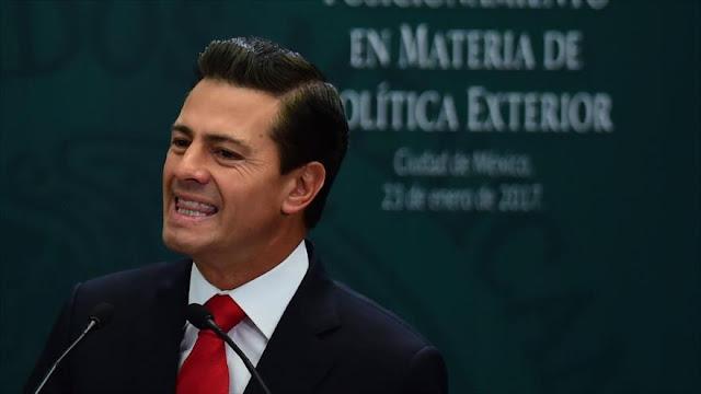 Peña Nieto arremete contra Trump: México no pagará ningún muro