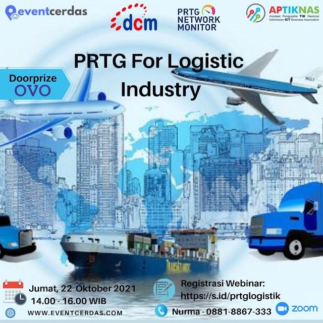 Webinar PRTG for Logistic Industry - 22 Okt 2021