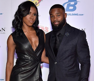 Averi Woodley with her ex-spouse Tyron Woodley