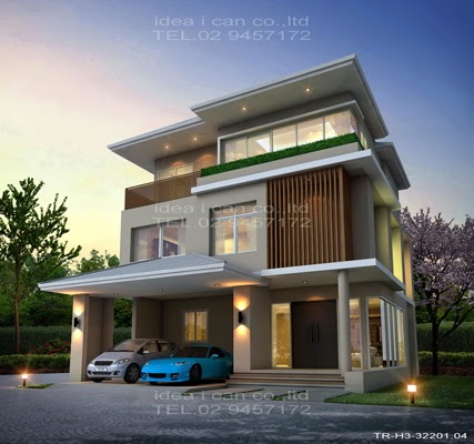 03 03 14 Modern Tropical House Plans Contemporary