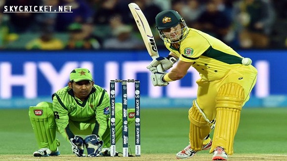 Live Broadcast of PAK v AUS ODI Series 2017
