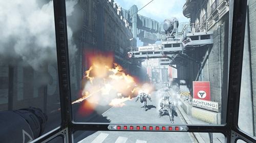 Wolfenstein: Cyberpilot Gameplay