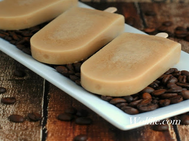 Coffee Popsicles Recipe #Summer #Dessert