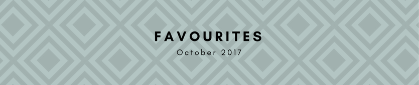 October Favourites Banner