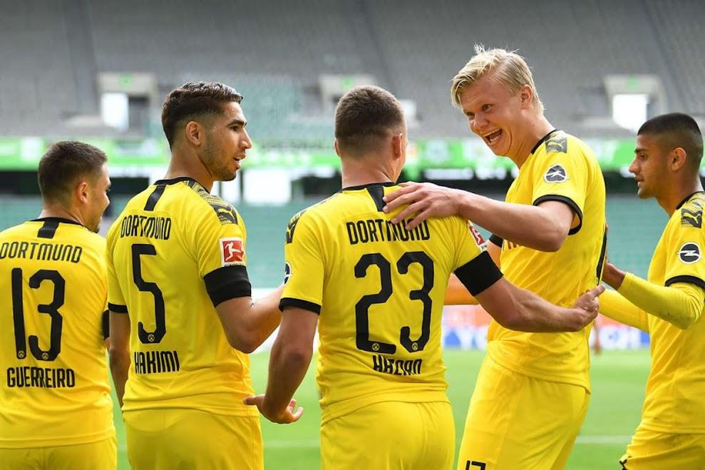 موعد مباراة بوروسيا دورتموند واوكسبورغ في الدوري الالماني