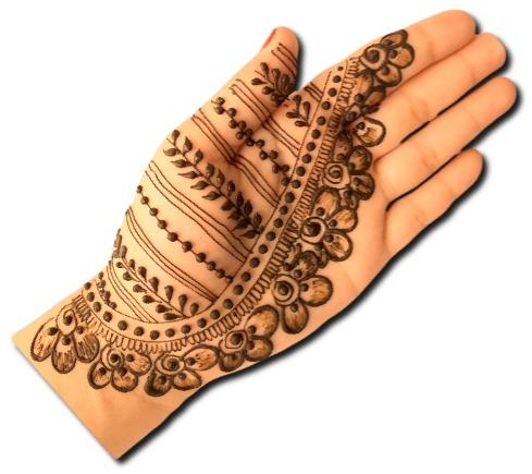 Easy Mehndi Design for Festivals