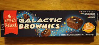 A box of Baker's Select Galactic Brownies, from Dollar Tree