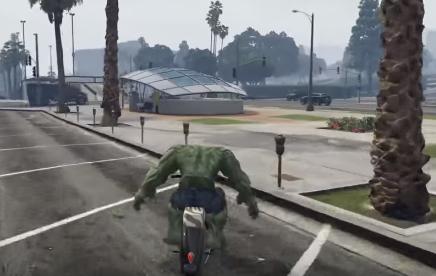 The Incredible Hulk Gta 5 Mod