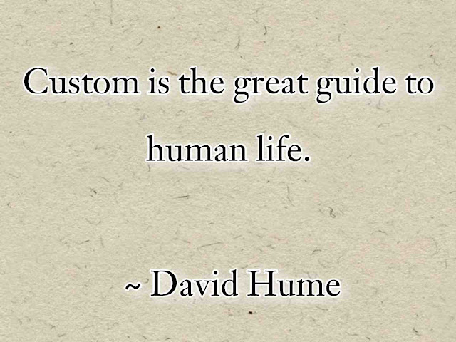david hume sayings