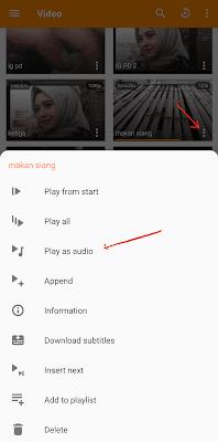 Beberapa Cara Play Video Android di Latar Belakang