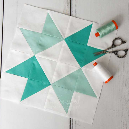The Perfect Ribbon Star Quilt Block - Free Pattern