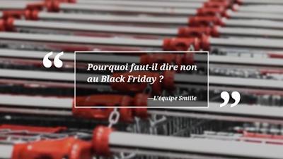 Black Friday, c'est le moment de dire stop !