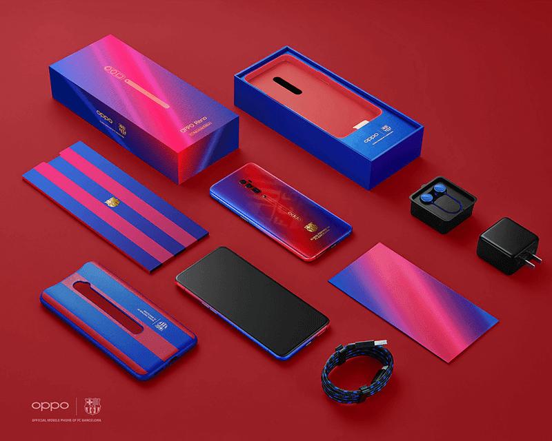 OPPO releases Reno 10x Zoom FC Barcelona Edition