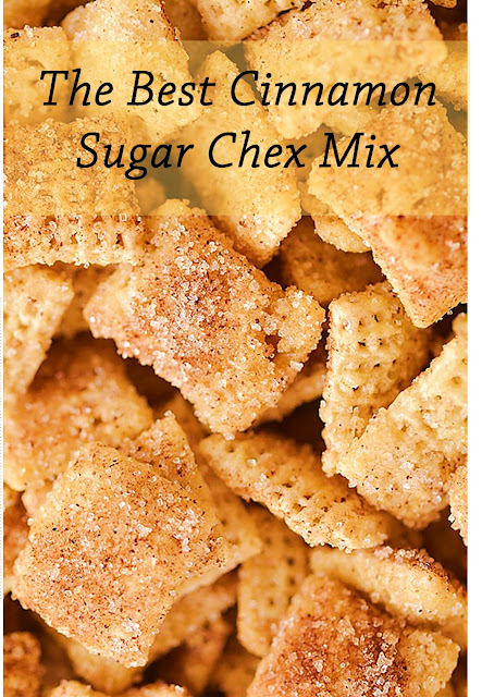 The Best Cinnamon Sugar Chex Mix