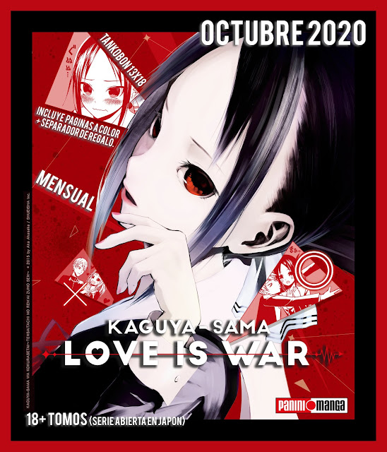 Panini Comics Argentina licencia Kaguya-sama: Love is War