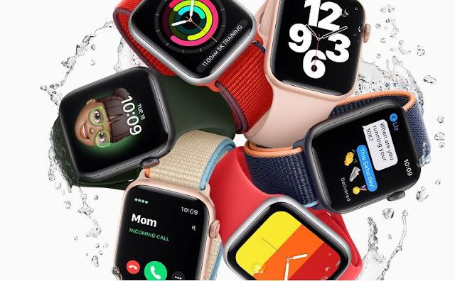 Apple watch series six colors varient