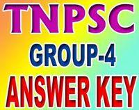 TNPSC Group 4 Answer Key Tamil language