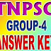 TNPSC Group 4 Answer Key Tamil language
