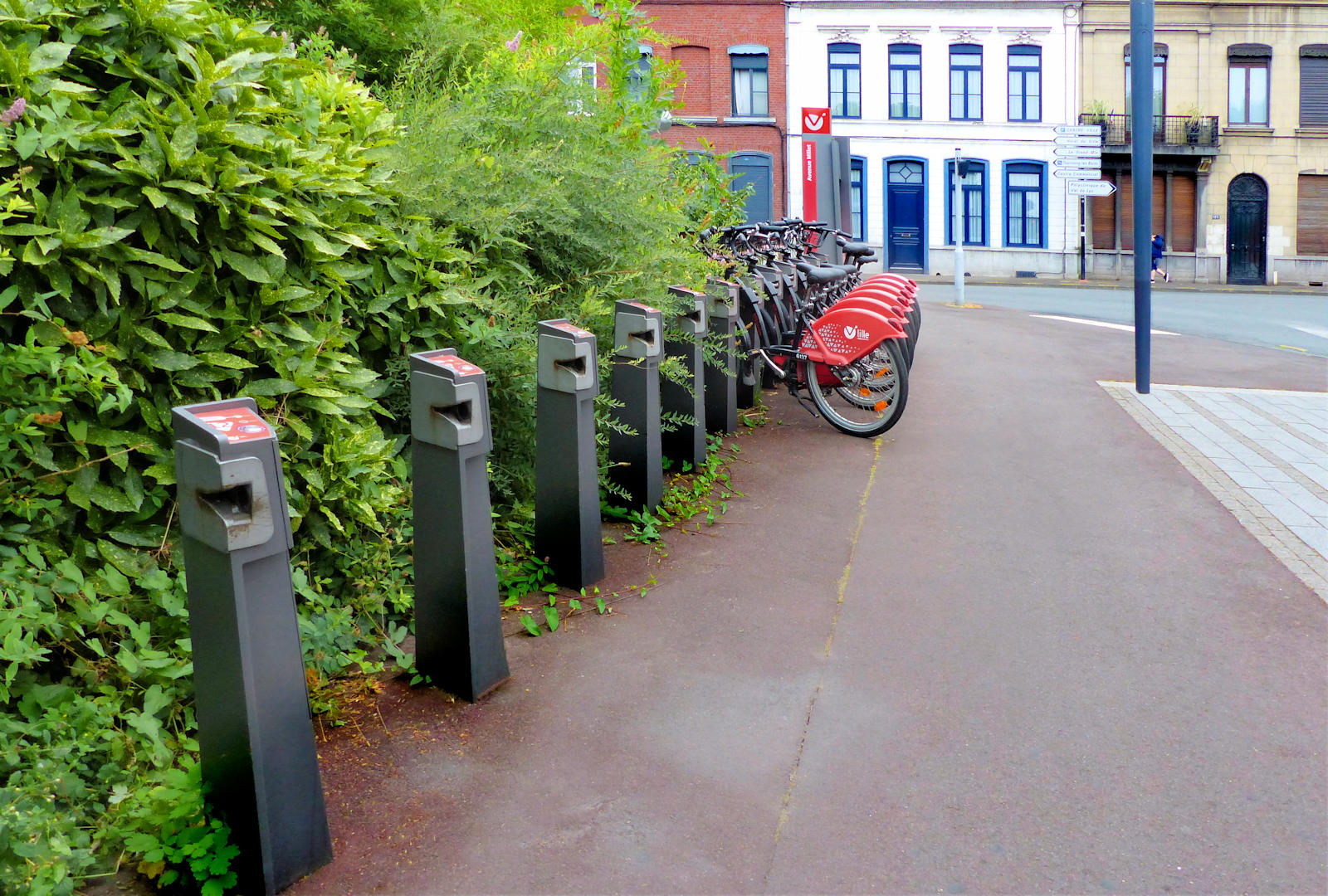 """Vélos V'Lille Tourcoing - station """"avenue millet"""""""
