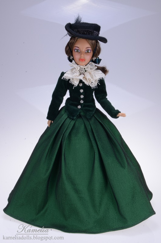 Long dress for Liv doll.