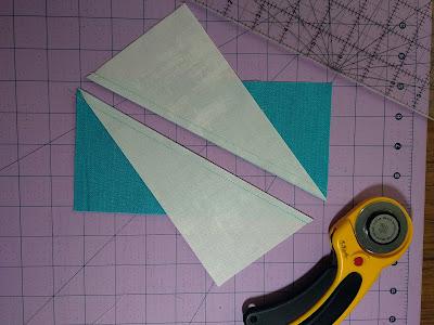 2 Half-rectangle triangle unit in progress