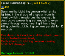 naruto castle defense 6.0 naruto False Darkness detail