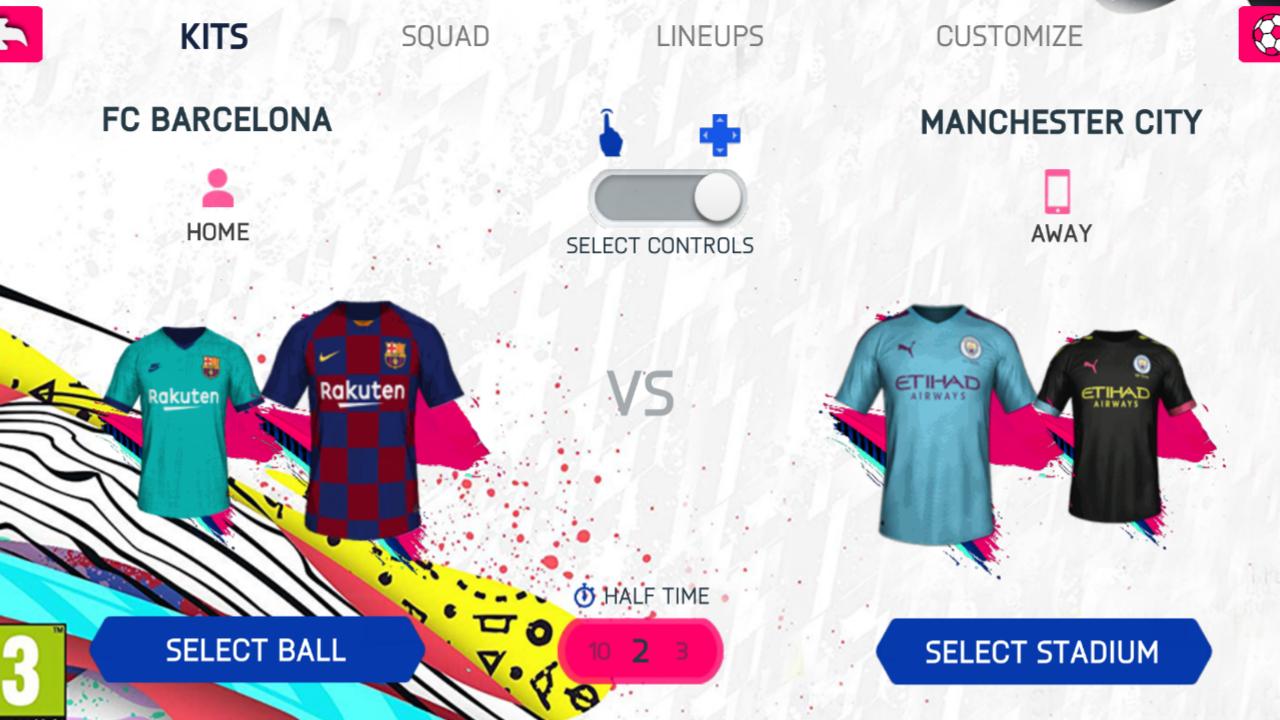 FIFA 20 Android Offline 700 MB | New Menu, Kits, Leagues
