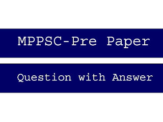 MPPSC Pre previous year question papers with answers