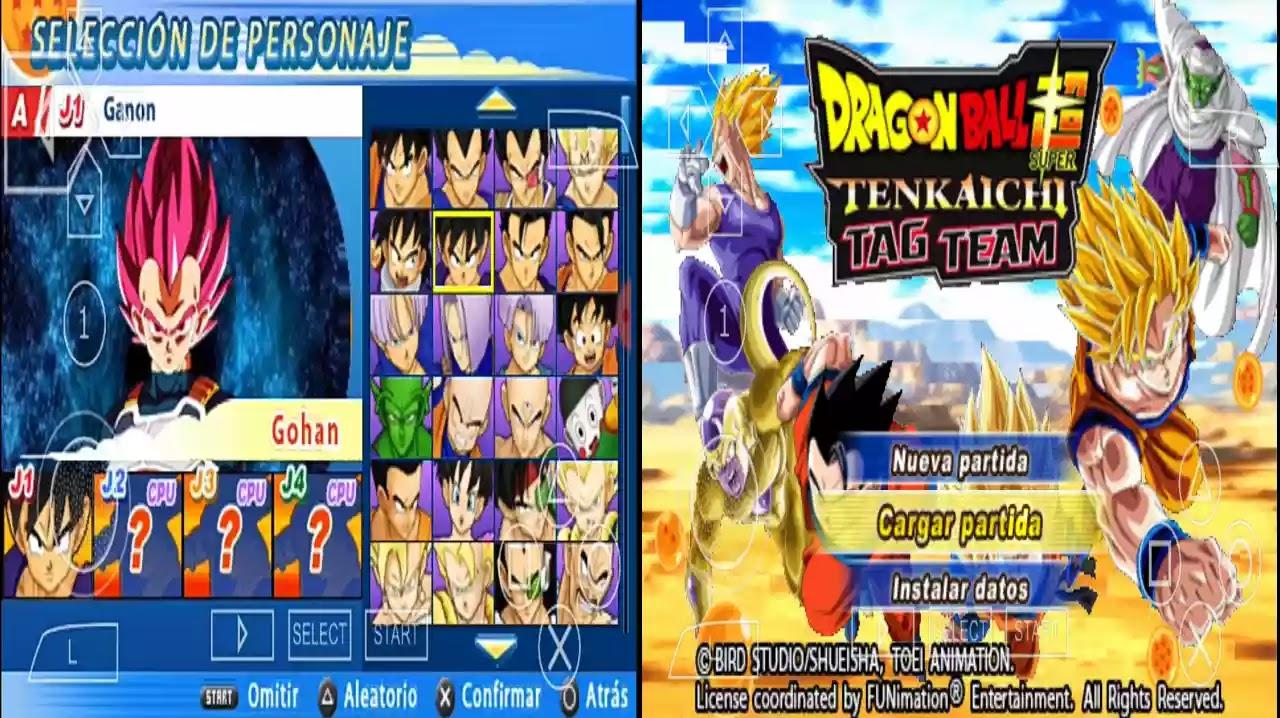 DBZ TTT MOD Download With BT4 Menu