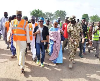 President's delegate to Bama IDPs camp