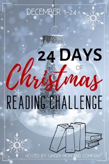 24 Days of Christmas Reading Challenge logo