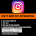 How to write  Instagram bio |  Instagram Bio Ideas in 2019