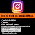 How to write  Instagram bio |  Instagram Bio Ideas in 2019