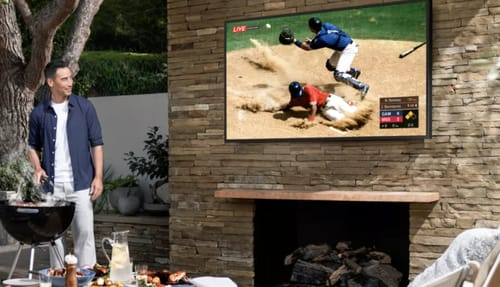 Samsung launches new TV to work outside the home