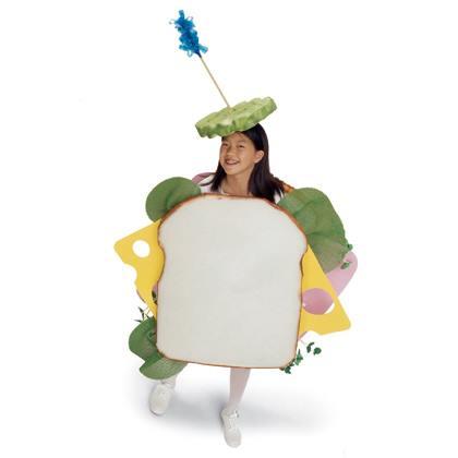 Ham and Cheese Costume