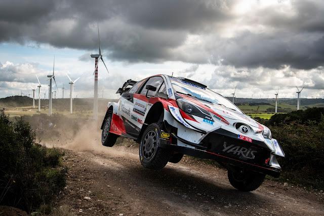 Sebastien Ogier holds second in Rally Sardinia