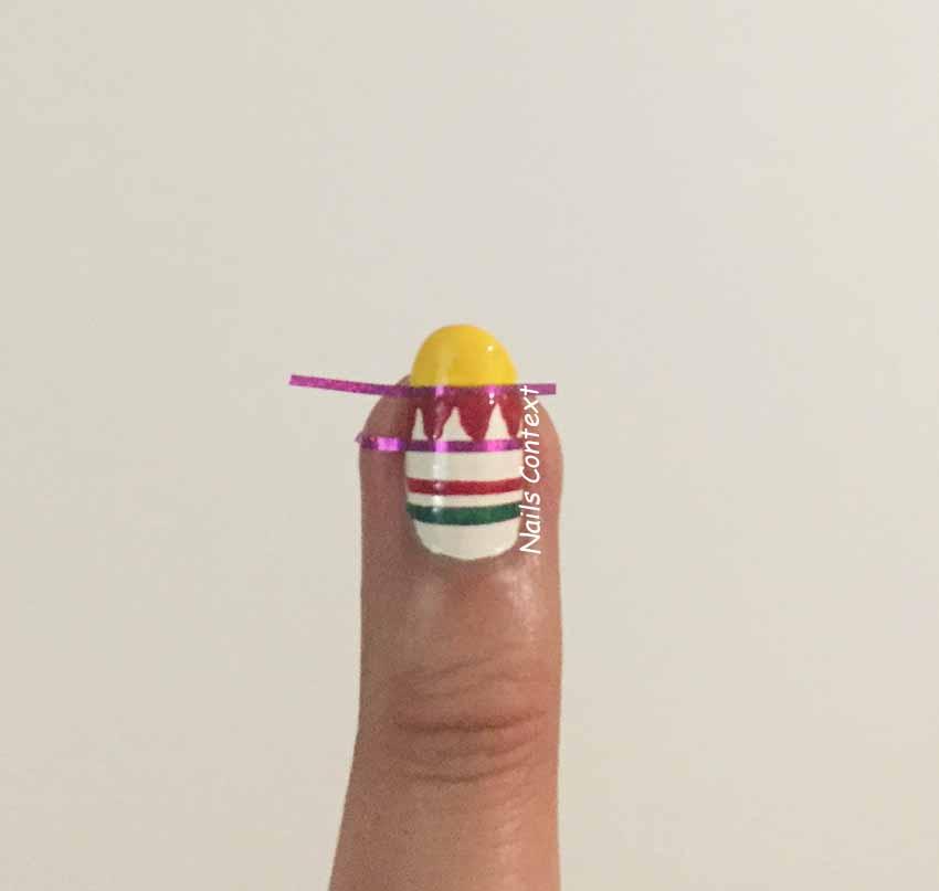 Nails Context: Tutorial: Cinco De Mayo Nails