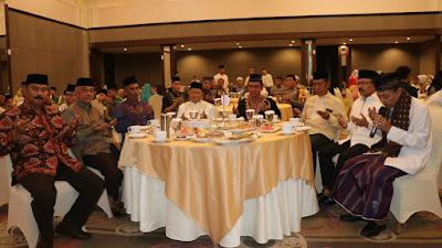 Wabup Hadiri Undangan Silahturahmi dan Buka Puasa Bersama Alumni SMA N 3 Jambi