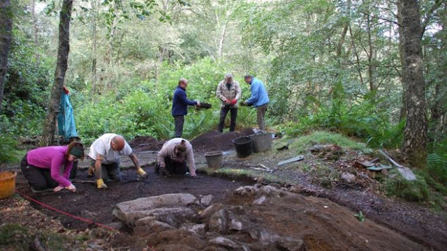 Pictish 'power centre' uncovered near Dunkeld